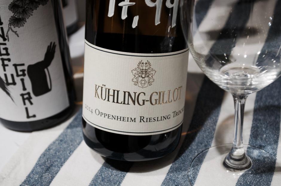 #1 Kühling-Gillot Oppenheim Riesling Trocken 2014