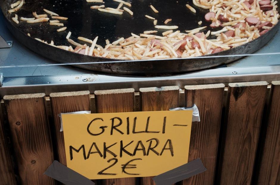 Messut ei ole messut jos ei siellä joku myy grillimakkaraa