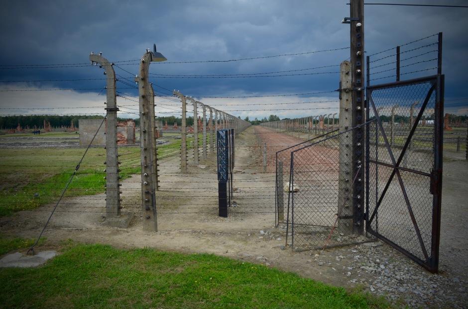 Auschwitz. Olen tyytyväinen, että tuli käytyä vaikken saanut absurdismin läpi oikein otetta.